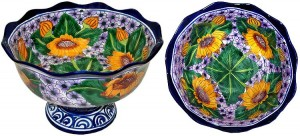 Authentic Talavera Pottery - Fruit Bowl