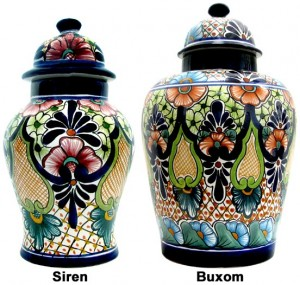 Authentic Talavera Jases Vases
