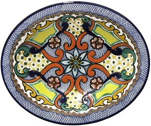 Talavera Serving Bowl - Made in Mexico