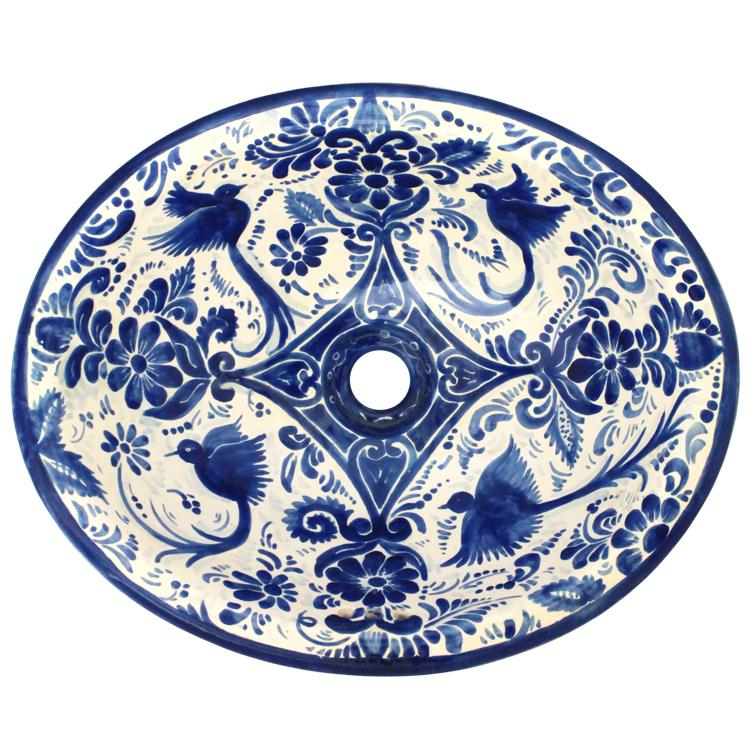 Blue And White Talavera Tile Talavera Com
